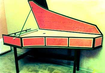 Mein erstes selbstgebautes Flämisches Cembalo.